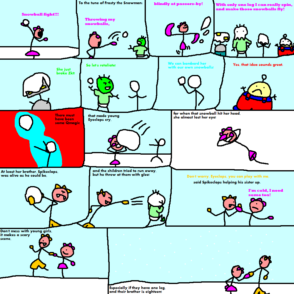 Educomix Frosty the Snowman