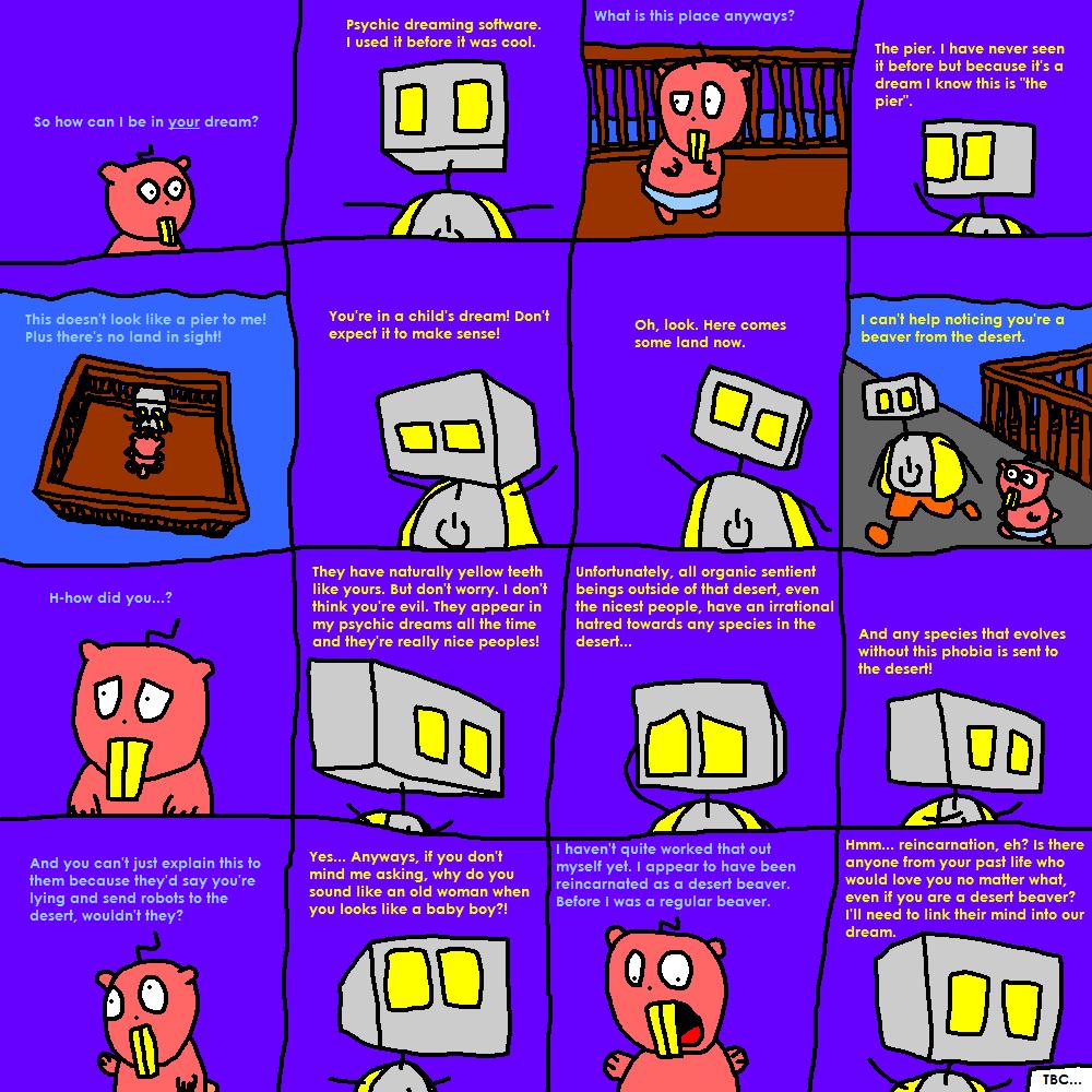 Do Robots Dream of Electric Beavers?